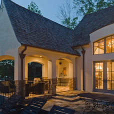 Traditional Exterior by Christopher Architects and Interiors