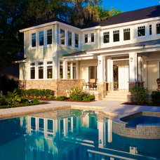 Traditional Exterior by Robert A Harris Architect