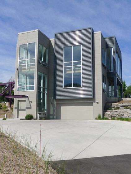 Modern Exterior by Design House Studio
