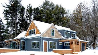 Lake Michigan Shingle style cottage