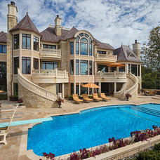 Traditional Exterior by John Kraemer & Sons