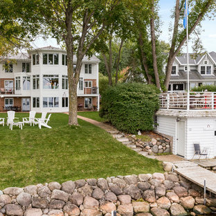 Inspiration for a beach style exterior home remodel in Minneapolis
