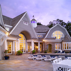 traditional exterior by Harrison Design Associates - Atlanta