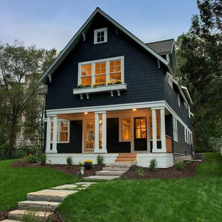 Transitional exterior home photo in Minneapolis