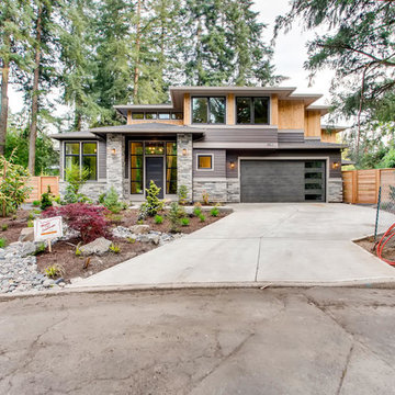 Lake Oswego, OR Contemporary Craftsman Custom Home