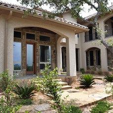 Mediterranean Exterior by Rob Sanders Designer - Custom Home/Remodel Design