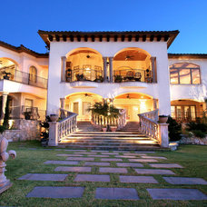 Mediterranean Exterior by Zbranek & Holt Custom Homes