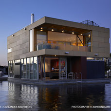 Contemporary Exterior by Vandeventer + Carlander Architects