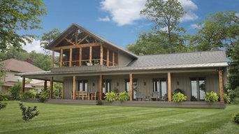 Lakefront Craftsman Home