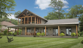 Lakefront Craftsman Home