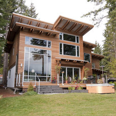 Contemporary Exterior by Creative Construction Management/Jeff Hill