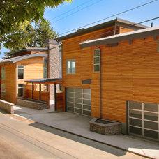Contemporary Exterior by RW Anderson Homes