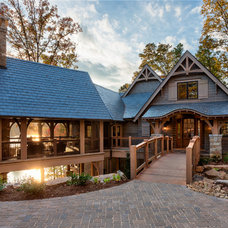 Traditional Exterior by Ridgeline Construction Group, Inc