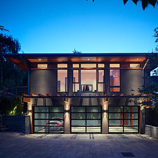 Contemporary Exterior by Gelotte Hommas Architecture