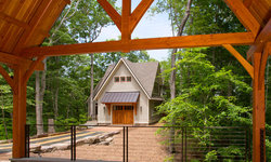Lakefront Timber Frame Home and Pavillions