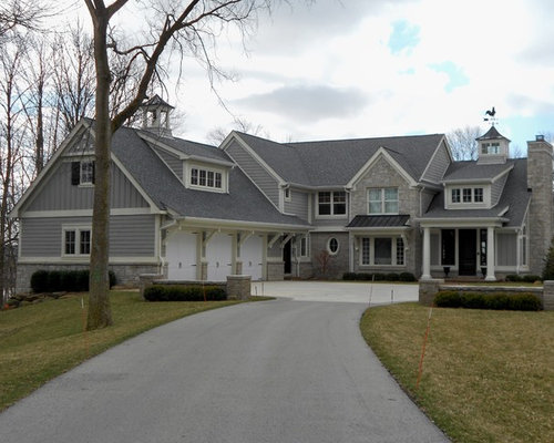 Estate Grey Shingles Home Design Ideas Pictures Remodel