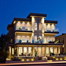 Contemporary Exterior by Giroux Design Group