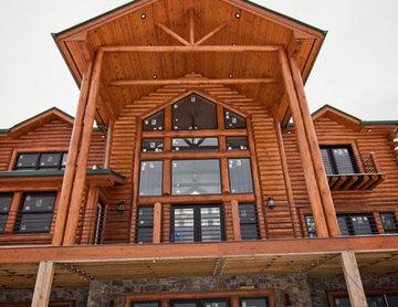 Lakeshore Log Home