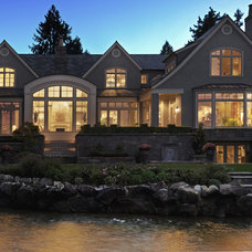 Traditional Exterior by AOME Architects