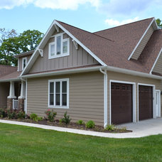 Craftsman Exterior by Bullock Building and Development