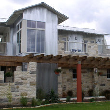 Contemporary Exterior by Rick O'Donnell Architect