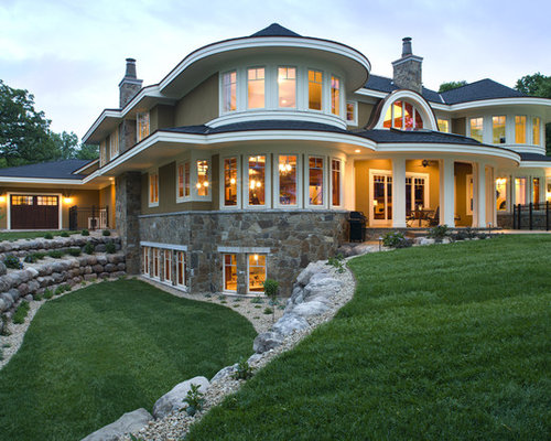 Basement retaining wall ideas pictures remodel and decor for Walkout basement pictures