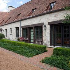 Farmhouse Exterior by Rosborough Partners Inc.