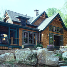 Traditional Exterior by Timberpeg