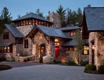 Lakeside Stone Manor House