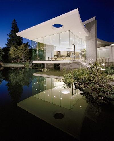 Modern Exterior by Mark Dziewulski Architect