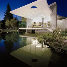 Contemporary Exterior by Mark Dziewulski Architect