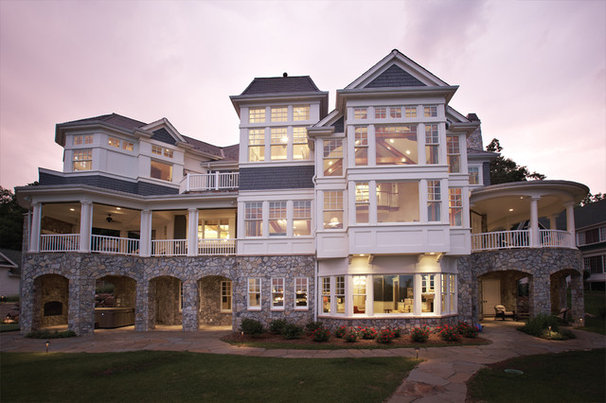Traditional Exterior by Kolbe Windows & Doors
