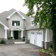 Traditional Exterior by Staples Design Group