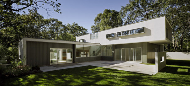 Contemporary Exterior by Murdock Solon Architects