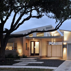 Midcentury Exterior by StudioMET Architects