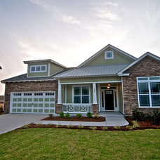 Traditional Exterior by Bill Clark Homes