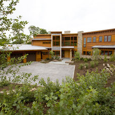 Contemporary Exterior by tippetts/weaver architects, inc.