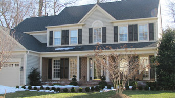 LANDMARK ARCHITECTURAL SHINGLES MOIRE BLACK