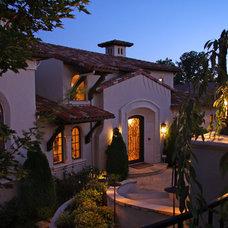 Mediterranean Exterior by Landmark Builders