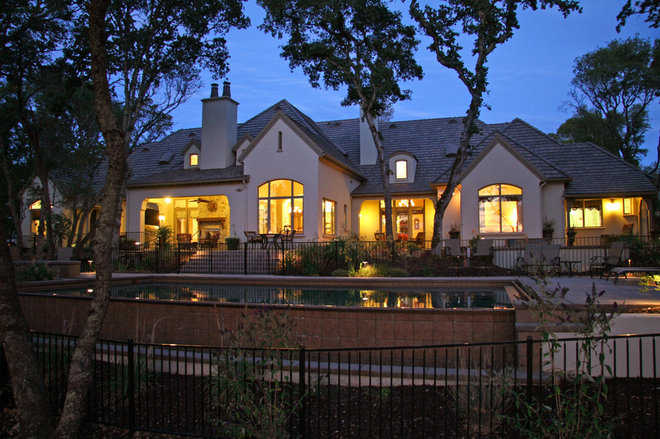 Traditional Exterior by Landmark Builders