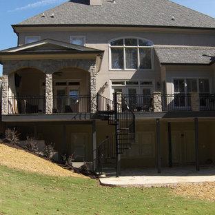 Traditional exterior home idea in Atlanta