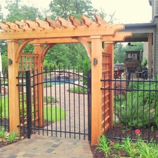 Traditional Exterior by Elements Landscape
