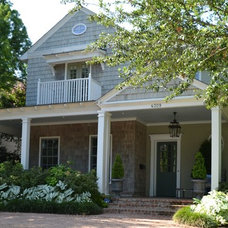 Traditional Exterior by Brumley Gardens