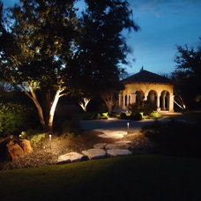 Contemporary Exterior by Western Landscape Lighting