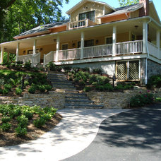 Traditional Exterior by Slater Associates Landscape Architects