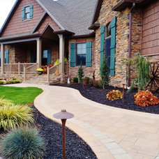 Traditional Exterior by Weavers Landscape Company