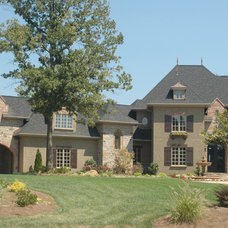Eclectic Exterior by EDG PLAN COLLECTION