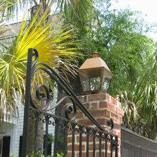 Traditional Exterior by Carolina Lanterns