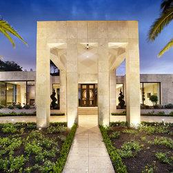 Contemporary Porte Cochere Specialty Exterior Design Ideas