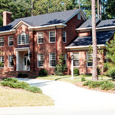 Traditional Exterior by Construction Managers, Inc.